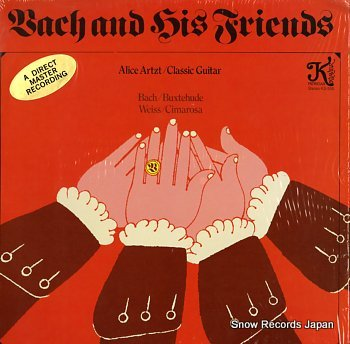 BACH & HIS FRIENDS s/t