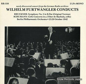 FURTWANGLER, WILHELM bruckner; symphony no.5 in b flat