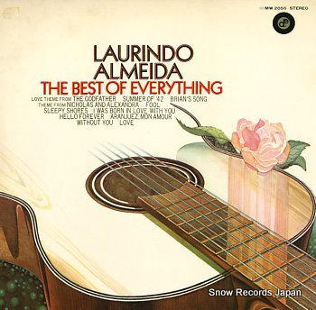 ALMEIDA, LAURINDO best of everything, the