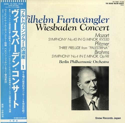 FURTWANGLER, WILHELM wiesbaden concert