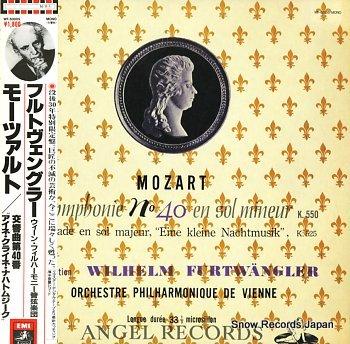 FURTWANGLER, WILHELM mozart; symphonie no.40 en sol mineur k.550