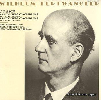 FURTWANGLER, WILHELM bach; brandenburg concerto no.5