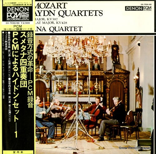 SMETANA QUARTET mozart; two haydn quartets