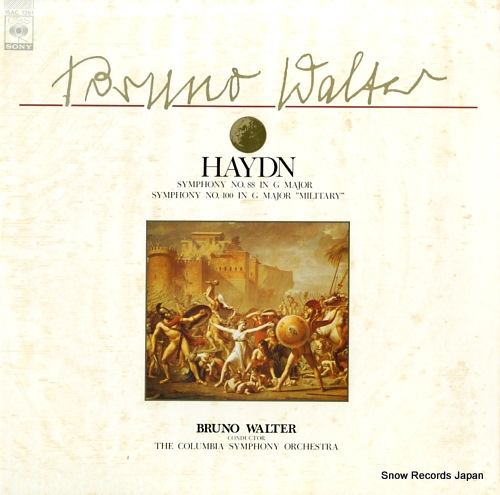 WALTER, BRUNO haydn; symphony no.88 in g major