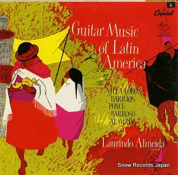 ALMEIDA, LAURINDO guitar music of latin america