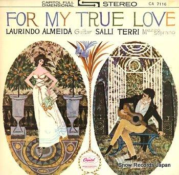 TERRI, SALLI for my true love