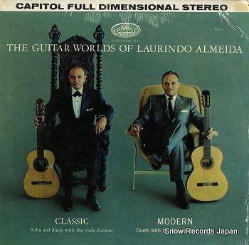 ALMEIDA, LAURINDO guitar world of, the