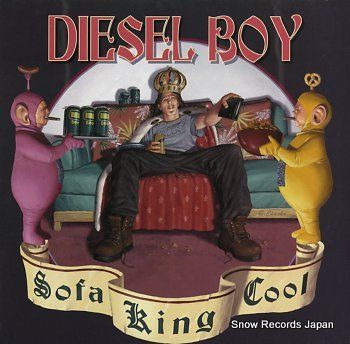 DIESEL BOY sofa king cool