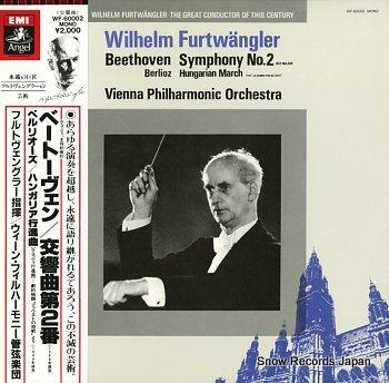 FURTWANGLER, WILHELM beethoven; symphony no.2