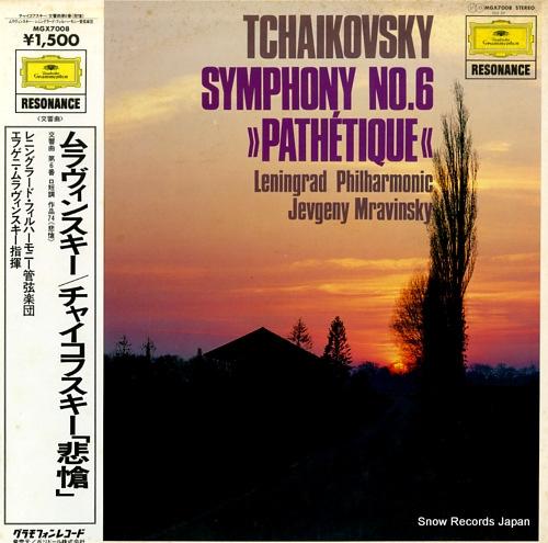 MRAVINSKY, JEVGENY tchaikovsky; symphony no.6 pathetique