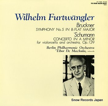 FURTWANGLER, WILHELM bruckner; symphony no.5 in b-flat major