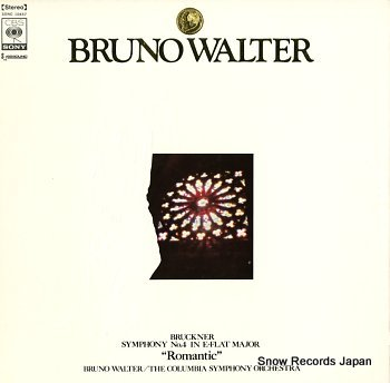 WALTER, BRUNO bruckner; symphony no.4 in e-flat major