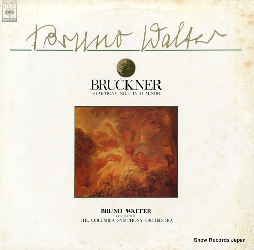 WALTER, BRUNO bruckner; symphony no.9 in d minor