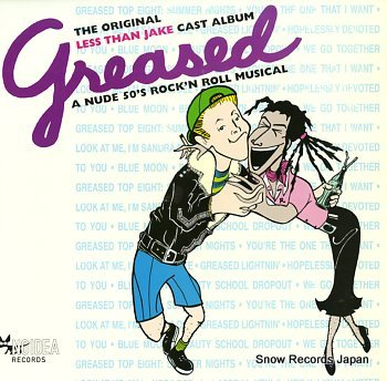 LESS THAN JAKE greased a nude 50's rock'n roll musical