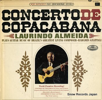 ALMEIDA, LAURINDO concerto de copacabana