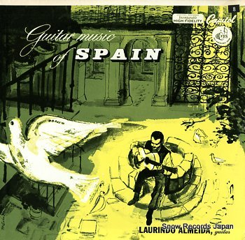 ALMEIDA, LAURINDO guitar music of spain