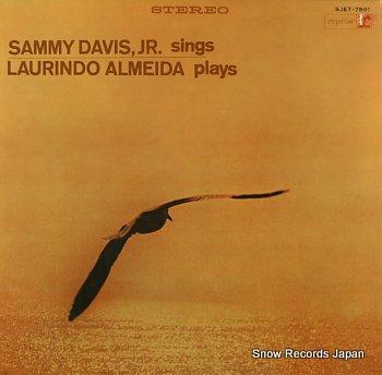 DAVIS JR., SAMMY & LAURINDO ALMEIDA sammy davis jr. sings laurindo almeida plays