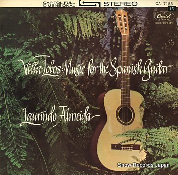 ALMEIDA, LAURINDO music for the spanish guitar