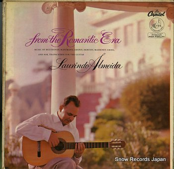 ALMEIDA, LAURINDO guitar music from the romantic era