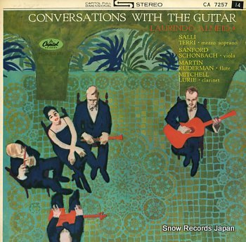 ALMEIDA, LAURINDO conversations with the guitar