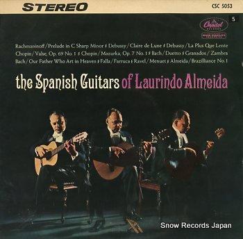 ALMEIDA, LAURINDO spanish guitars of, the