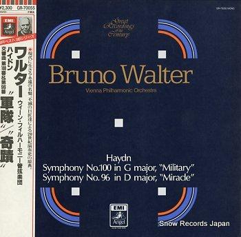 WALTER, BRUNO haydn; symphony no.100 & no.96
