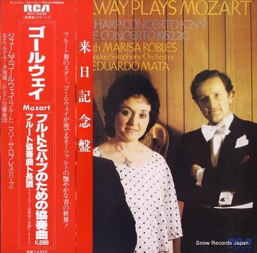 MATA, EDUARDO mozart; concerto pour flute & harpe