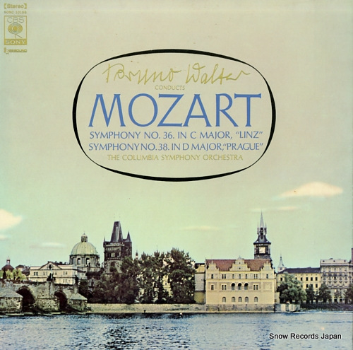 WALTER, BRUNO mozart; symphony no.36 & no.38