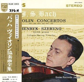 SZERYNG, HENRYK bach; violin concertos