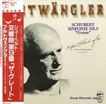 FURTWANGLER, WILHELM schubert; sinfonie nr.9 grosse