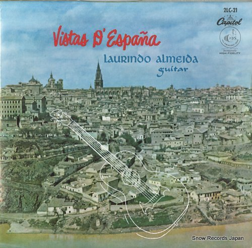 ALMEIDA, LAURINDO vistar d'espana