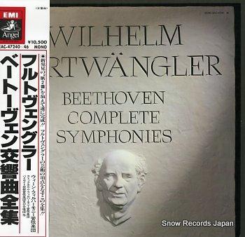 FURTWANGLER, WILHELM beethoven; complete symphonies