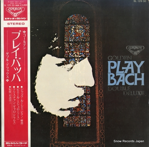 LOUSSIER, JACQUES golden play bach double deluxe