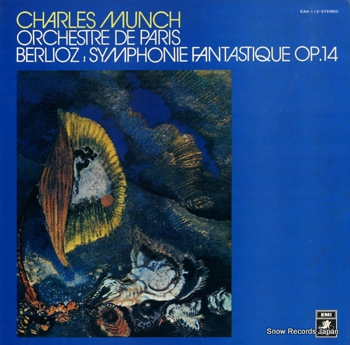 MUNCH, CHARLES berlioz; symphonie fantastique op.14