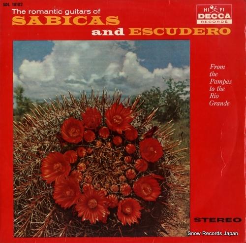 SABICAS & ESCUDERO romantic guitars, the