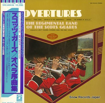 REGIMENTAL BAND OF THE SCOTS GUARDS, THE overtures