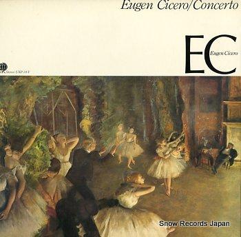 CICERO, EUGEN concerto