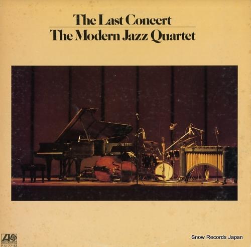 MODERN JAZZ QUARTET, THE last concert, the