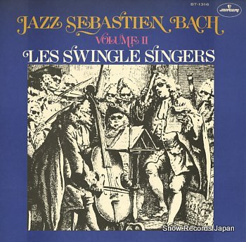 SWINGLE SINGERS, THE jazz sebastien bach volume ii