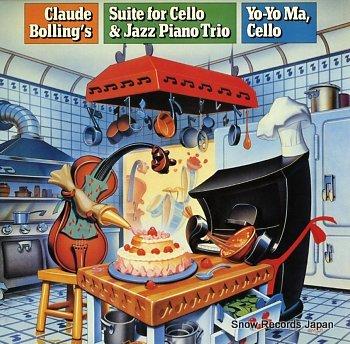 MA, YO-YO bolling; suite for cello & jazz piano trio