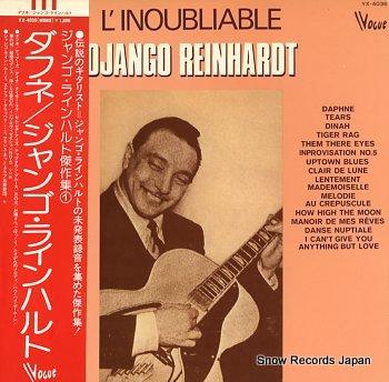 REINHARDT, DJANGO l'inoubliable