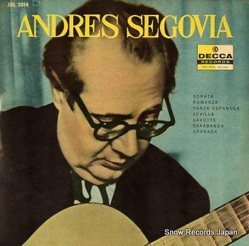 SEGOVIA, ANDRES s/t