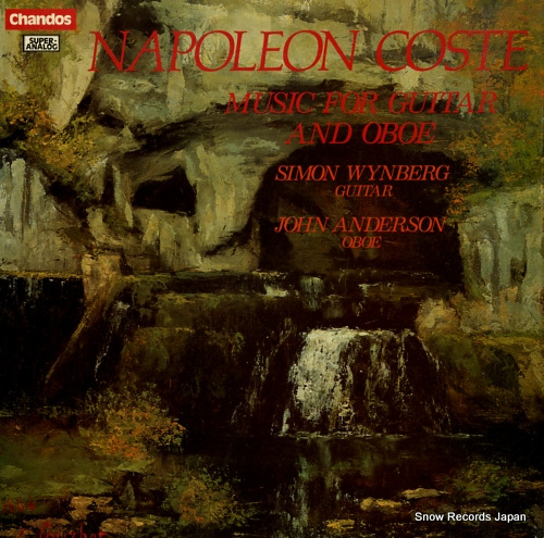 WYNBERG, SIMON & JOHN ANDERSON napoleon coste; music for guitar and oboe