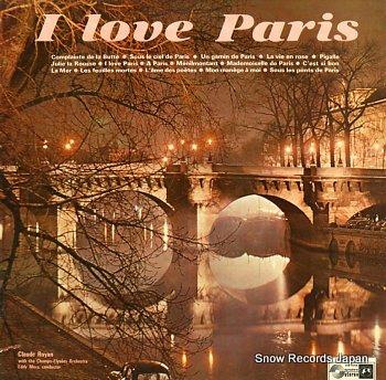 ROYAN, CLAUDE i love paris