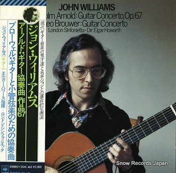 WILLIAMS, JOHN arnold; guitar concerto, op.67