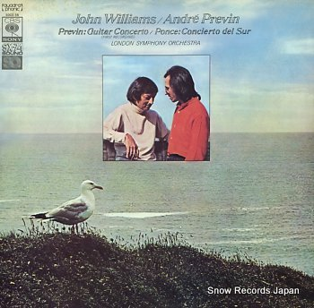 WILLIAMS, JOHN previn; guitar concerto