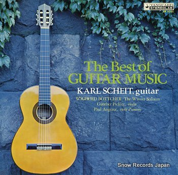 SCHEIT, KARL best of guitar music, the