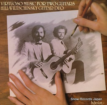 HILL-WILTSCHINSKY GUITAR DUO virtuoso music for two guitars