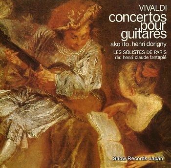 ITO, AKO & HENRI DORIGNY vivaldi; concertos pour guitares