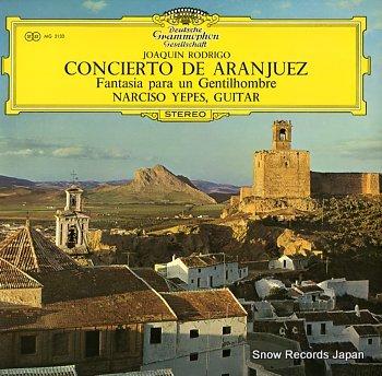 YEPES, NARCISO concierto de aranjuez